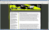 design der webmasterseite jex-treme (in neuer seite öffnen)