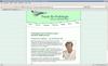 die webseite der praxis für podologie lauer (in neuer seite öffnen)